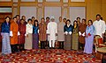 A Bhutanese Parliamentary Delegation led by the Speaker of the National Assembly of Bhutan, Mr. Lyonpo Jigme Tshultim meeting with the Prime Minister, Dr. Manmohan Singh, in New Delhi on August 28, 2008.jpg