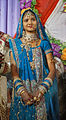A Hindu bride dress rituals beliefs culture in Amla, Madhya Pradesh India 2015.jpg