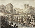 A Romantic Landscape with a Ruined Castle by Robert Adam.jpg