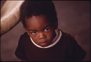 A black child, Chicago. - NARA - 556138