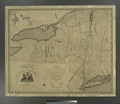 A map of the State of New York - by Simeon De Witt, Surveyor General. NYPL484226.tiff