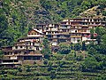 A small village on a hill slope in Madyan, Swat Valley, Pakistan.jpg
