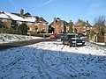 A snowy scene in Sunnydown - geograph.org.uk - 1625876.jpg
