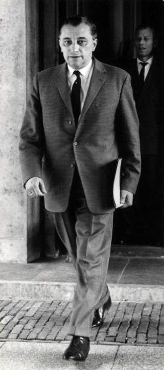 Jan van Aartsen - Jan van Aartsen, 22 July 1963