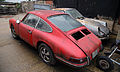 Abandoned Porsche cars at Hatfield Broad Oak Essex England 01.JPG