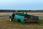 Abandoned pickup at Kelvin A. Lewis farm in Creeds 4.jpg