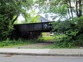 Abandoned railroad bridge in North Easton, June 2017.JPG