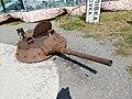 Abandoned tank cannon; Dnipro, Ukraine; 28.08.19.jpg
