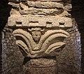 Abbazia di farneta, interno, cripta del ix o x secolo, 03 capitello 2.jpg