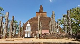 Anuradhapura - Abhayagiri Dagoba in Anuradhapura, Sri Lanka
