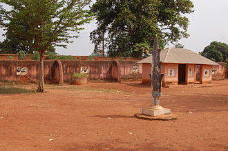 Royal Palaces of Abomey - The royal compound in Abomey