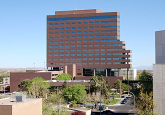 "Bank of the West - Albuquerque Petroleum Building known as the ""Bank of the West Tower"" is a corporate office building of Bank of the West in Albuquerque."