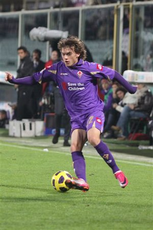 Adem Ljajić - Ljajić playing for Fiorentina