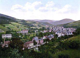 Adenau - Adenau around 1900