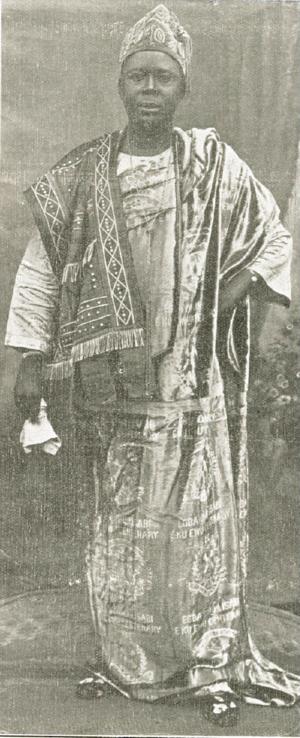 Adeyemo Alakija - Image: Adeyemo Alakija (1932)