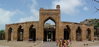 Adhai Din Ka Jhonpra - Screen wall of the mosque