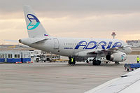 S5-AAR - A319 - Adria Airways