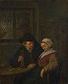 Adriaen van Ostade - A Peasant courting an Elderly Woman NG NG NG2542.jpg