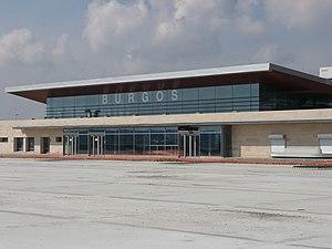 Burgos Airport - Image: Aero Burgos