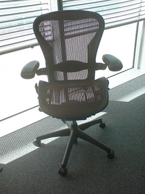 Aeron Chair in an office.