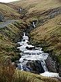 Afon Tarrenig flows towards Eisteddfa Gurig - geograph.org.uk - 2236293.jpg