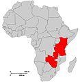 Africa Map Kenya, Tanzania, Zambia, Zimbabwe.jpg