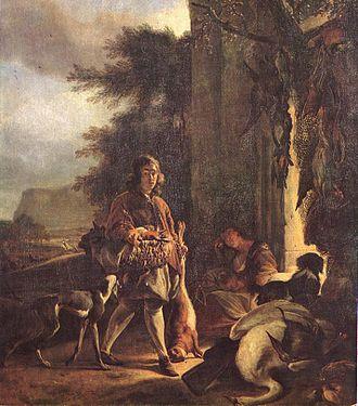 Jan Weenix - After the Hunt