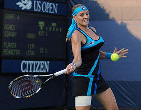 Agnes Szavay at US Open 2010.jpg