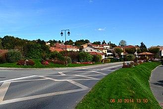 Agnin - A street in Agnin