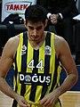 Ahmet Düverioğlu 44 Fenerbahçe Men's Basketball 20180107.jpg