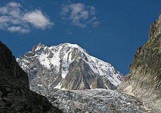 Aiguille dArgentière mountain in Switzerland