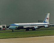 USAF VC-137C SAM 27000Air Force One, 1988.