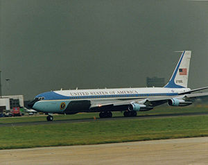 SAM 27000 as Air Force One