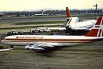 Air Mauritius 707 3B-NAE at LHR (28026047474).jpg