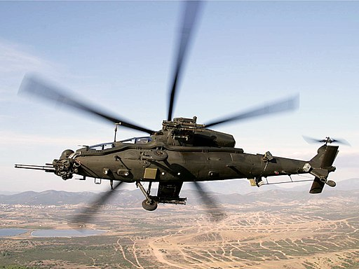 Aircraft Helicopter A-129 Mangusta Attack 1