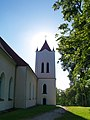 Aizputes Sv.Jāņa evanģēliskā luterāņu baznīca (Aizpute St.John's Evangelic Lutheran Church) - Uldis Osis - Panoramio.jpg