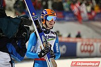 Akos Szilagyi Val di Fiemme 2013 qualification round (normal hill).jpg