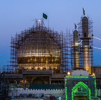 Al-Askari Shrine - Image: Al Askari Mosque 2013