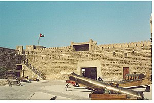 Dubai Museum - Courtyard of Al Fahidi Fort