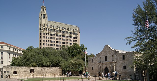 The Alamo today