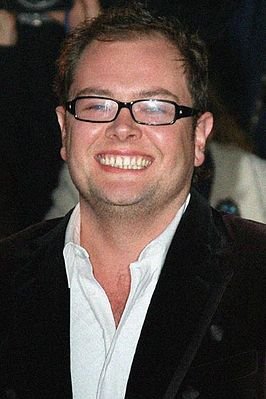 Alan Carr bij de British Comedy Awards 2007