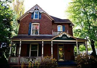 National Register of Historic Places listings in Cooper County, Missouri - Image: Albert Gallatin Blakey House