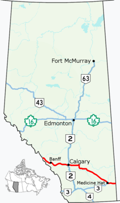 Alberta Highway 1 Map.png