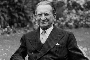 Alcide De Gasperi - Alcide De Gasperi as Prime Minister during 1950s.