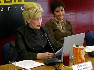 Slađana Milošević - Slađana Milošević in September 2005.
