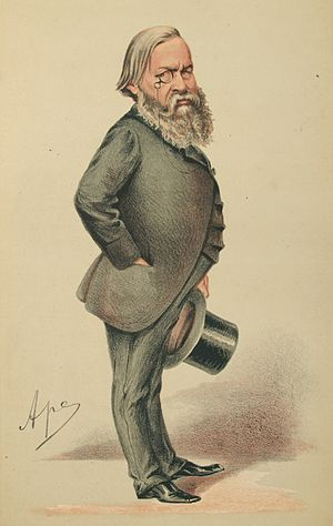 Alexander Beresford Hope - Caricature of Alexander Beresford-Hope from Vanity Fair, 1870