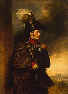 Ritratto di Aleksandr Sergeevič Menšikov, di George Dawe, 1826.