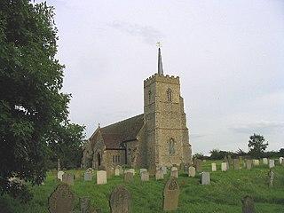 Sudbourne village in the United Kingdom