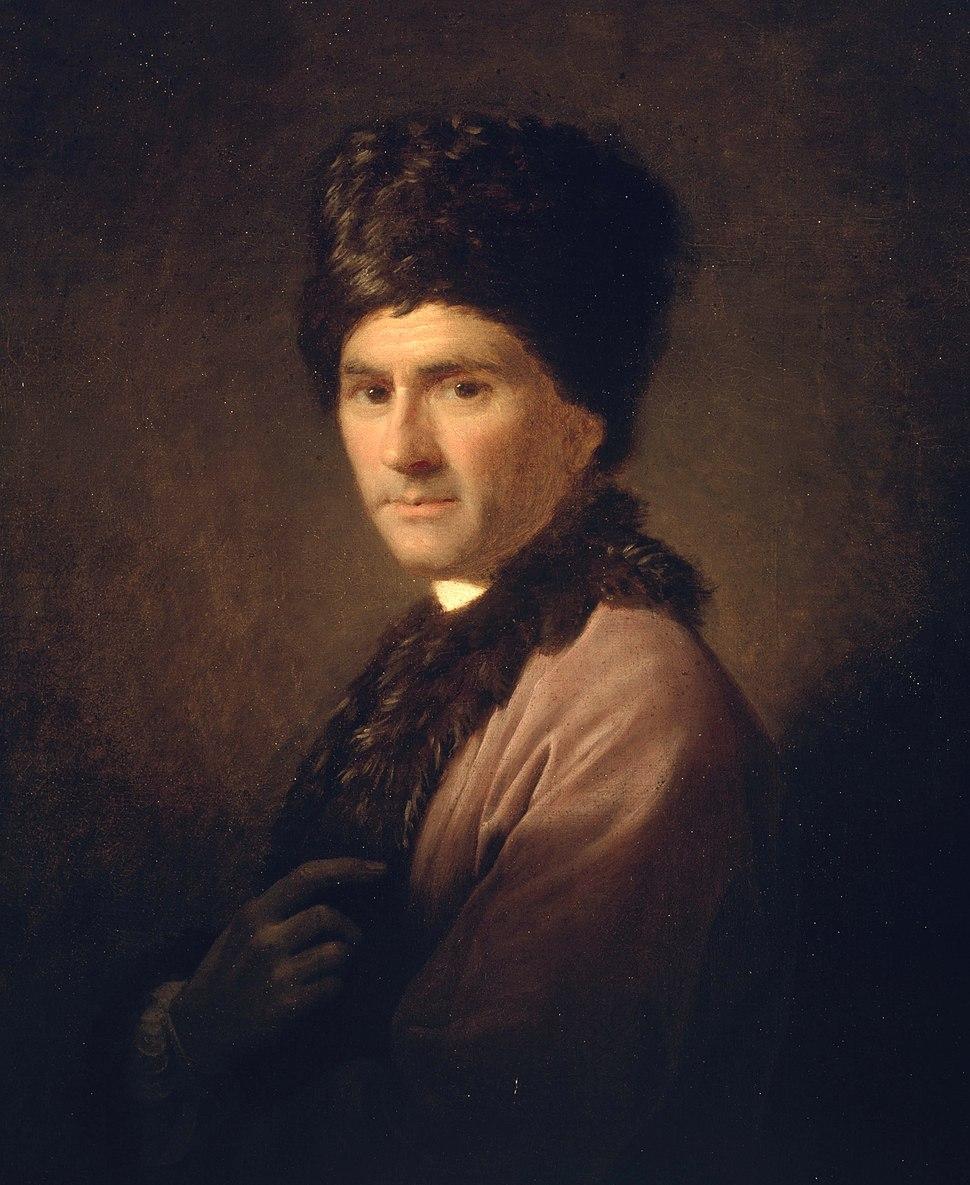 Allan Ramsay - Jean-Jacques Rousseau (1712 - 1778) - Google Art Project
