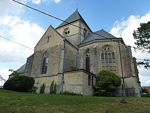 Alland'Huy-et-Sausseuil - The Church of Saint Catherine